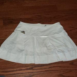 Adidas tennis skirt- white